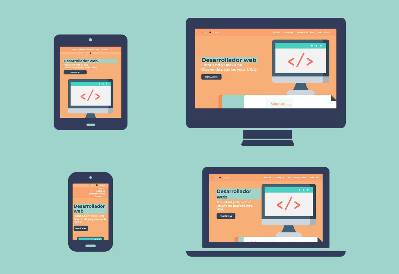 Desarrollador Web - Responsive Web Design